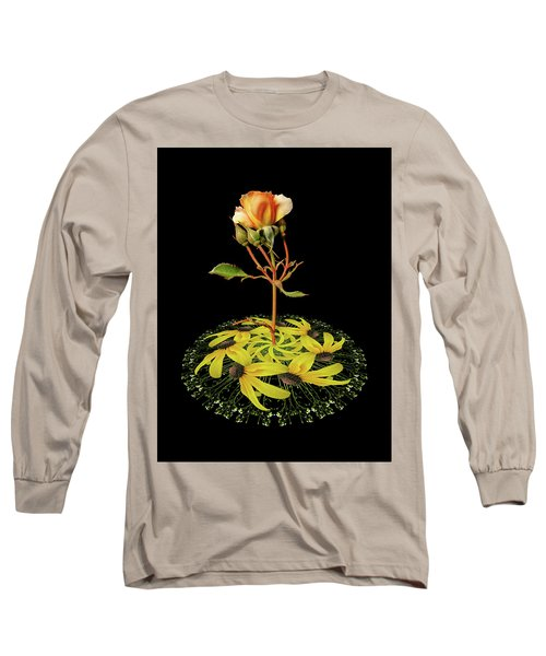 Long Sleeve T-Shirt featuring the photograph 4407 by Peter Holme III