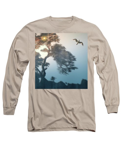 Long Sleeve T-Shirt featuring the photograph 4408 by Peter Holme III
