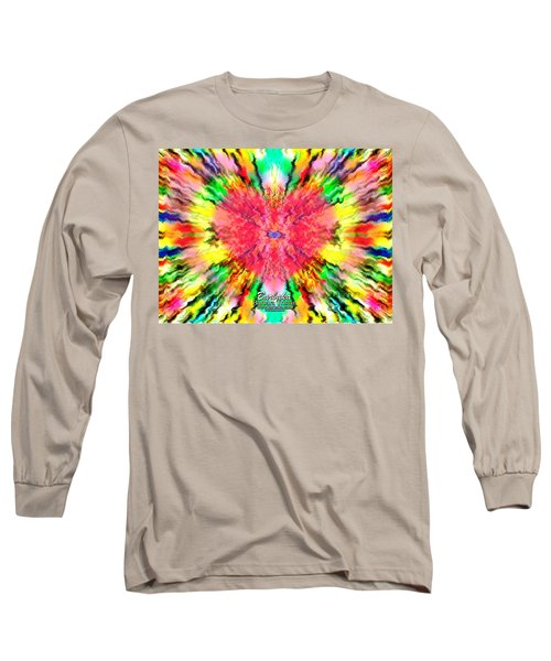 444 Loves Vibration Long Sleeve T-Shirt by Barbara Tristan