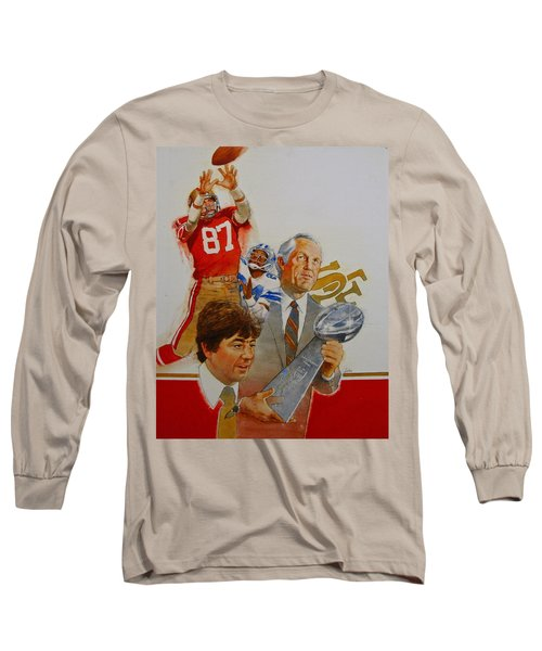 49rs Media Guide Cover 1982 Long Sleeve T-Shirt