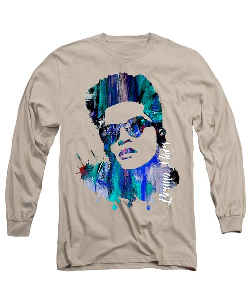 Bruno Mars Collection Long Sleeve T-Shirt
