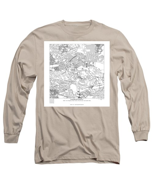 On The Road With 36 Digits Of Pi Long Sleeve T-Shirt