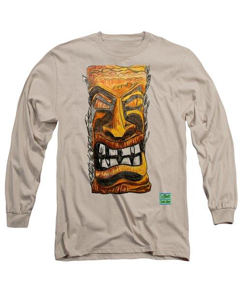 Tiki Art Long Sleeve T-Shirt
