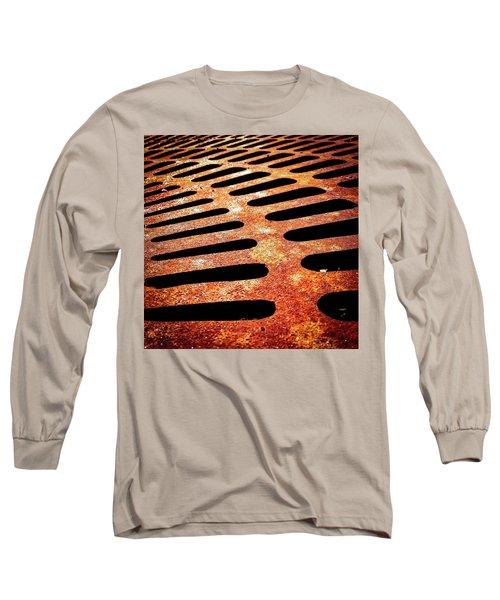 Iron Detail Long Sleeve T-Shirt