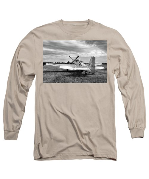 Long Sleeve T-Shirt featuring the photograph 51 Shades Of Grey by Peter Chilelli
