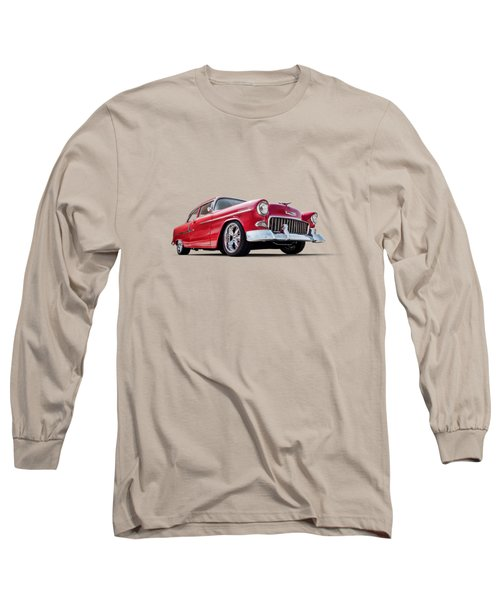 55 Red Long Sleeve T-Shirt