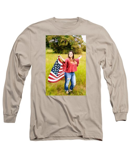 Long Sleeve T-Shirt featuring the photograph 5649 by Teresa Blanton