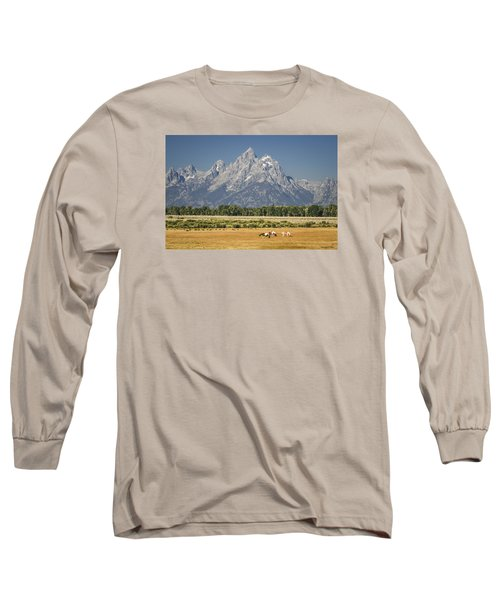 #5687 - Wyoming Long Sleeve T-Shirt