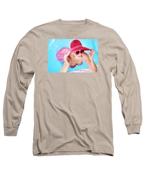Vintage Val Poolside Long Sleeve T-Shirt