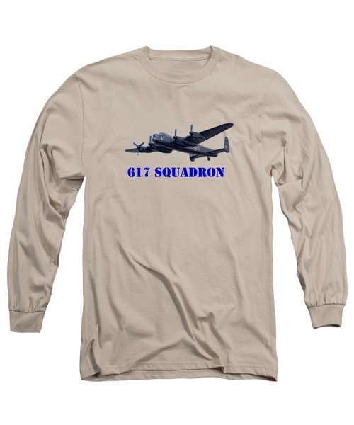 617 Squadron Long Sleeve T-Shirt by Scott Carruthers