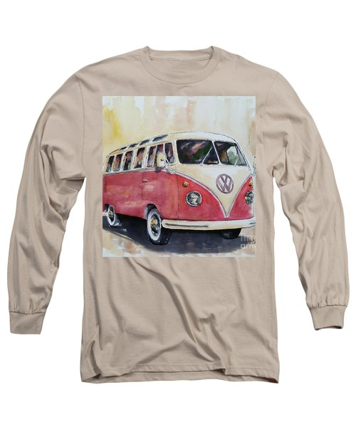 '63 V.w. Bus Long Sleeve T-Shirt by William Reed