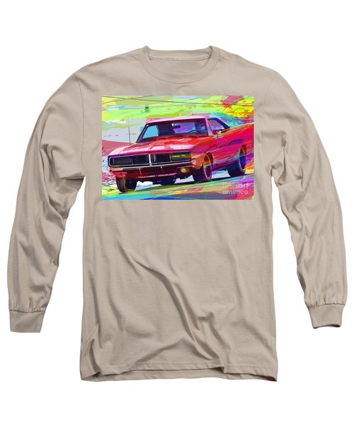 69 Dodge Charger  Long Sleeve T-Shirt