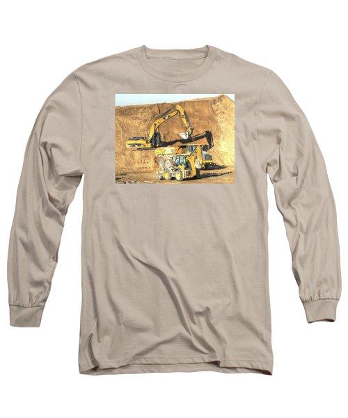 construction whsd Peterburg Long Sleeve T-Shirt by Yury Bashkin