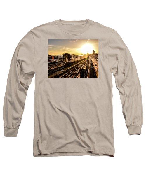 7 Train Sunset Long Sleeve T-Shirt