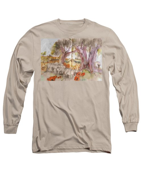 Trees Trees Trees Album Long Sleeve T-Shirt