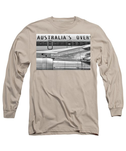 707 Nacelle And Fuselage Long Sleeve T-Shirt