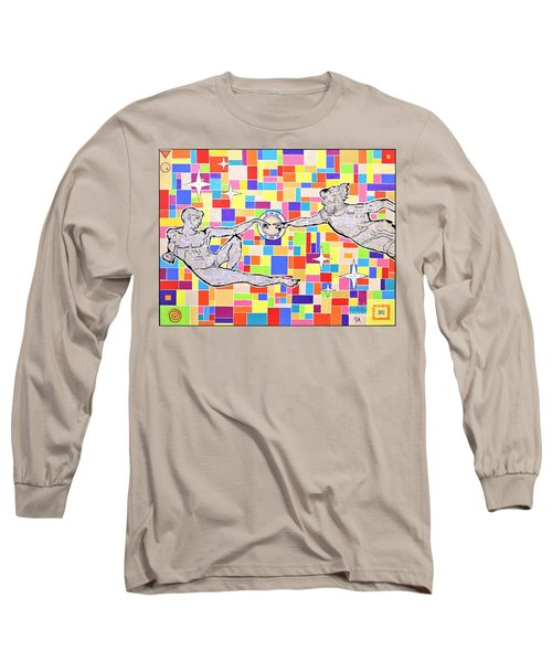 76 Aka The Gift Long Sleeve T-Shirt by Jeremy Aiyadurai