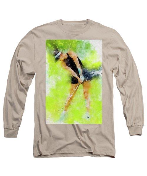 Michelle Wie Long Sleeve T-Shirt