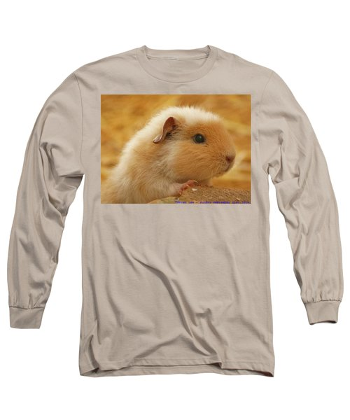 Guinea Pig Long Sleeve T-Shirt