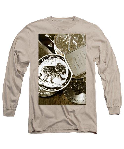 999 Silver Mint Long Sleeve T-Shirt