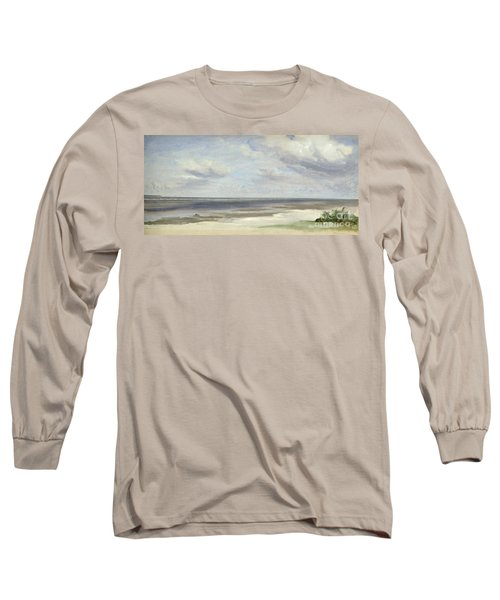 A Beach On The Baltic Sea At Laboe Long Sleeve T-Shirt