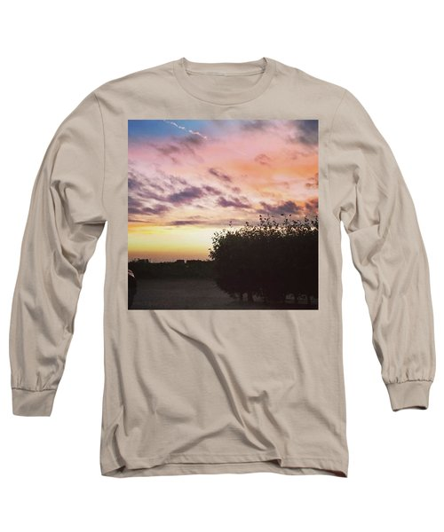 A Beautiful Morning Sky At 06:30 This Long Sleeve T-Shirt