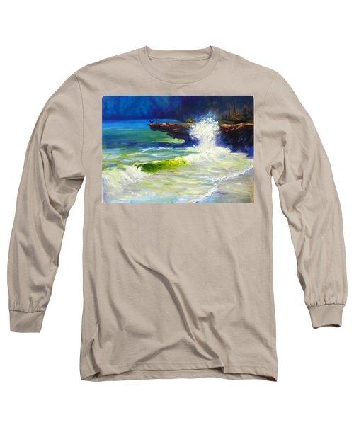 A Big Wave Long Sleeve T-Shirt