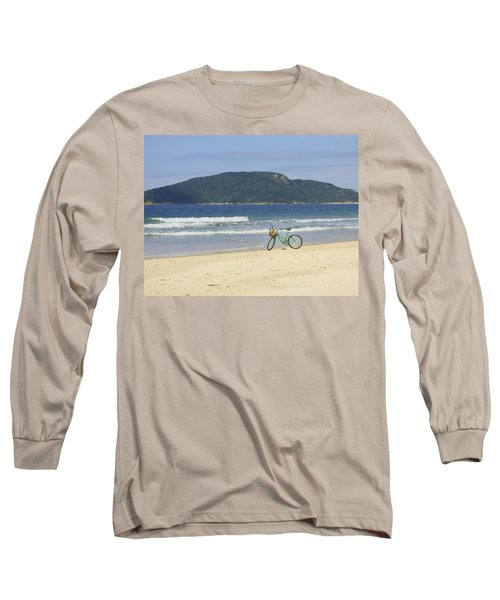 A Bike At The Beach Long Sleeve T-Shirt