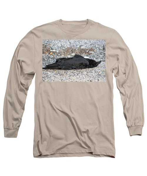 Long Sleeve T-Shirt featuring the photograph A Birds Eye View Of   The End by Paul SEQUENCE Ferguson             sequence dot net