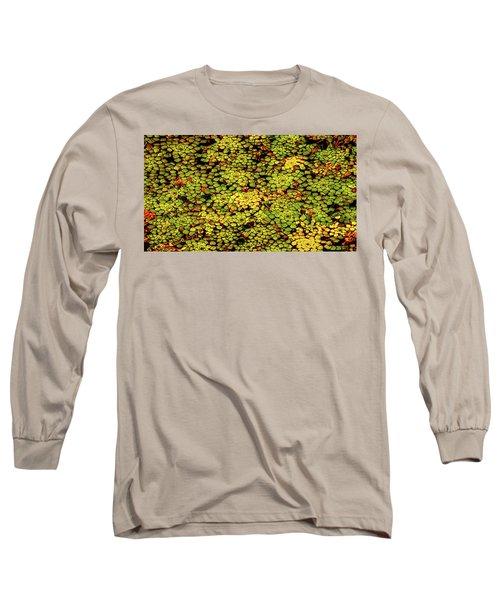 A Botanical Mosaic Long Sleeve T-Shirt