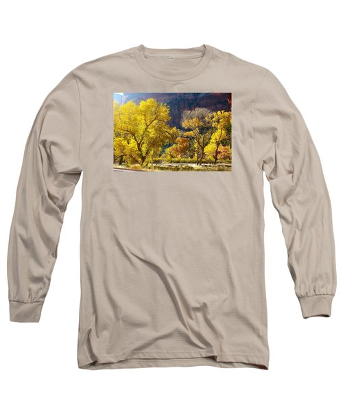 A Bright Gathering Of Trees Long Sleeve T-Shirt