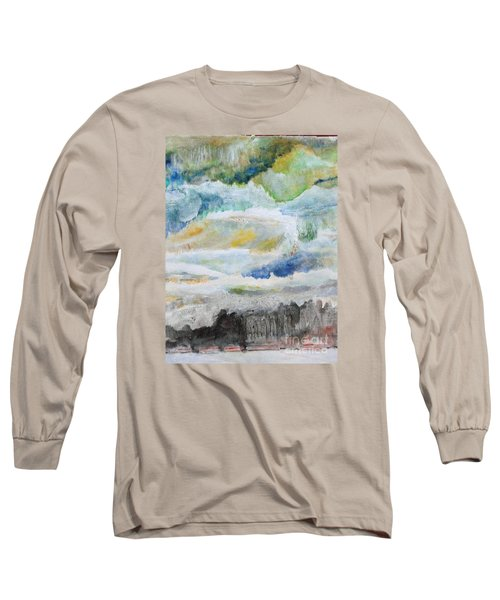 A Canvas I Seen Somewhere Long Sleeve T-Shirt