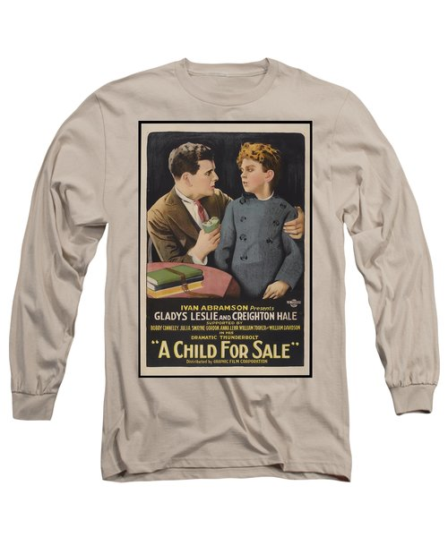 A Child For Sale 1920 Long Sleeve T-Shirt
