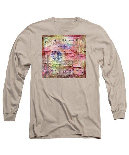 A City Besieged Long Sleeve T-Shirt by Paula Ayers