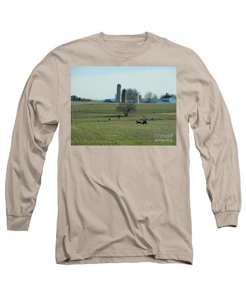 A Clear November Day Long Sleeve T-Shirt