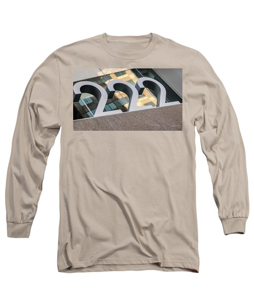 A Close Second - Architectural  Long Sleeve T-Shirt