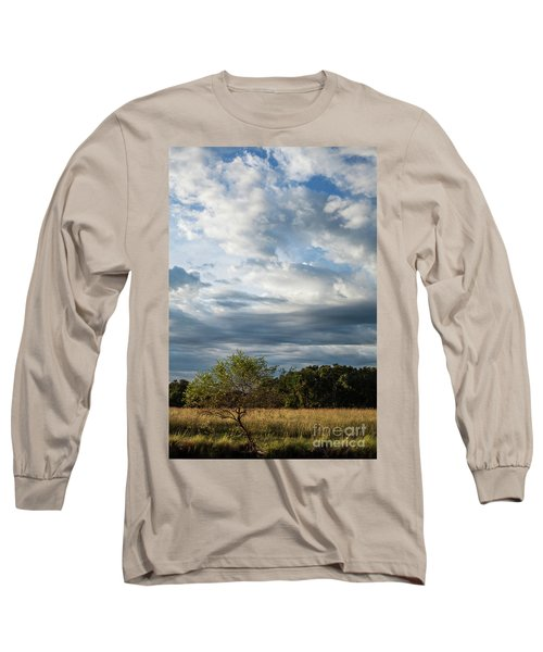Long Sleeve T-Shirt featuring the photograph A Day In The Prairie by Iris Greenwell