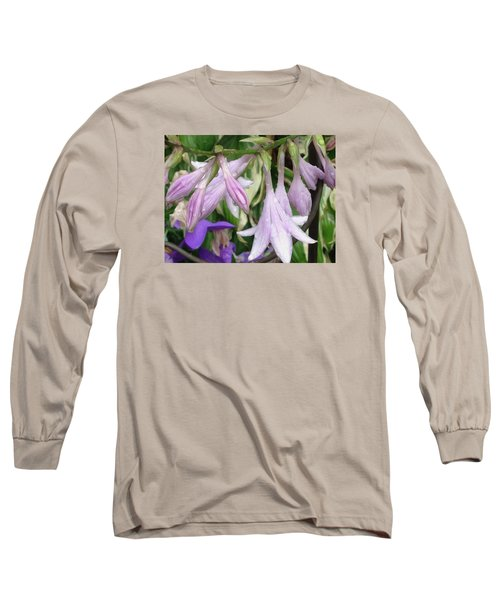 A Dewy Morning Long Sleeve T-Shirt by Jewels Blake Hamrick