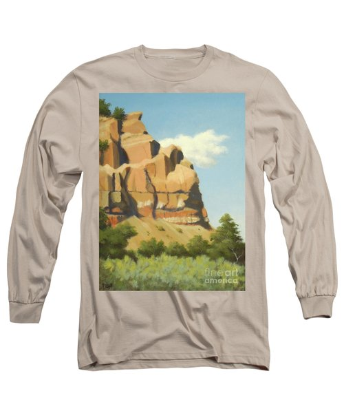 A Face In New Mexico Long Sleeve T-Shirt