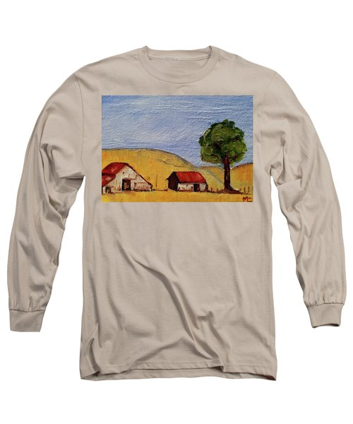 A Farm In California Winecountry Long Sleeve T-Shirt