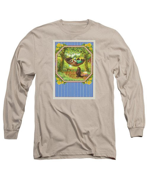 A Father's Day Treat Long Sleeve T-Shirt by Lynn Bywaters