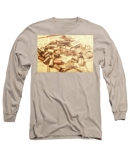 A Flare In Textile Repair Long Sleeve T-Shirt
