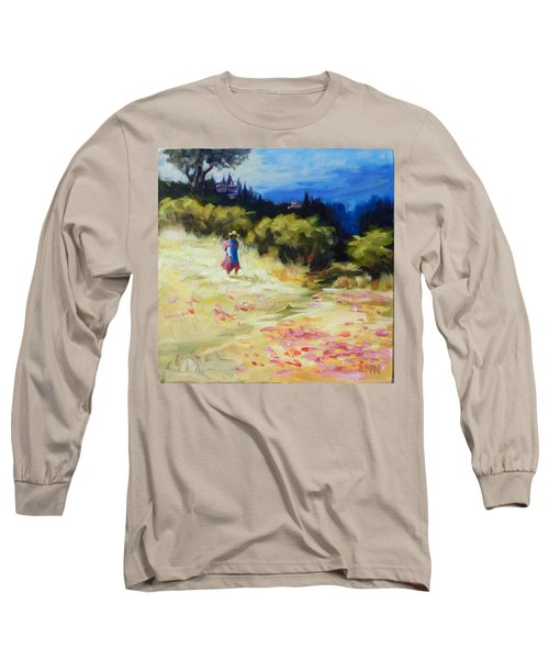A Girl From Gran Porcon, Peru Impression Long Sleeve T-Shirt