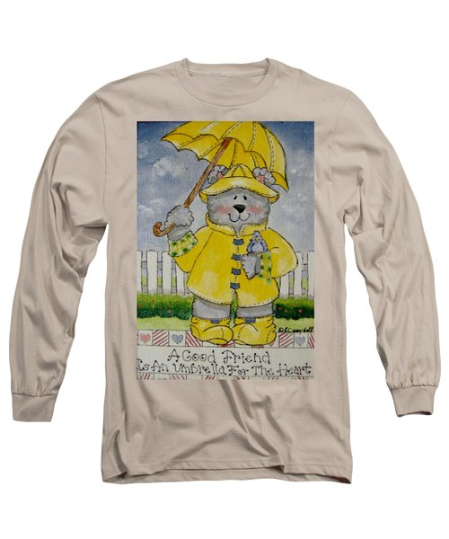 A Good Friend Long Sleeve T-Shirt