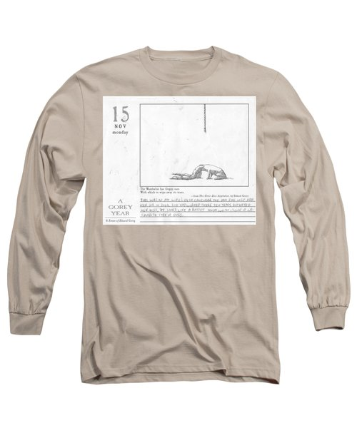 A Gorey Year Long Sleeve T-Shirt