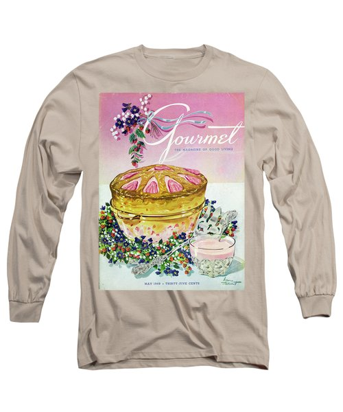 A Gourmet Cover Of A Souffle Long Sleeve T-Shirt