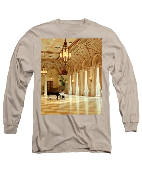 A Grand Piano Long Sleeve T-Shirt