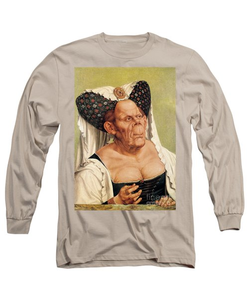 A Grotesque Old Woman Long Sleeve T-Shirt