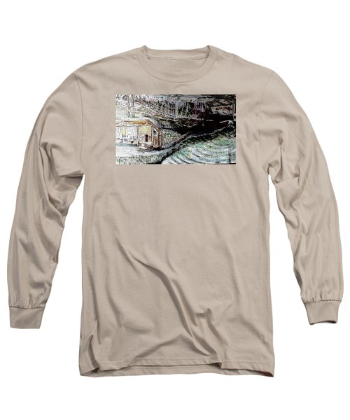 A Hut In The Valley  Long Sleeve T-Shirt