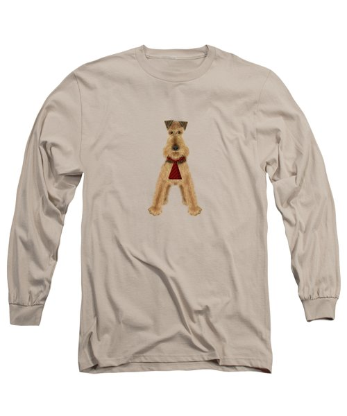 A Is  For Airedale Long Sleeve T-Shirt